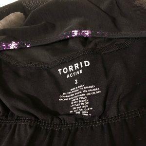 torrid Tops - Torrid Active Shadow Print Mesh Tank Top Sz 2X